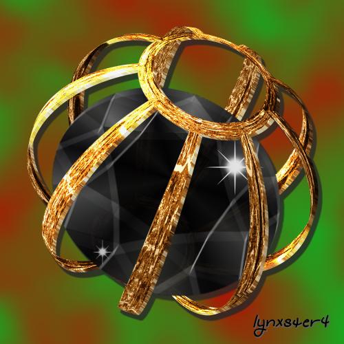Caged Black Diamond