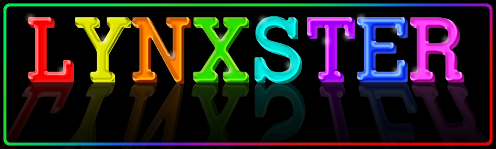 Colored Glass Text