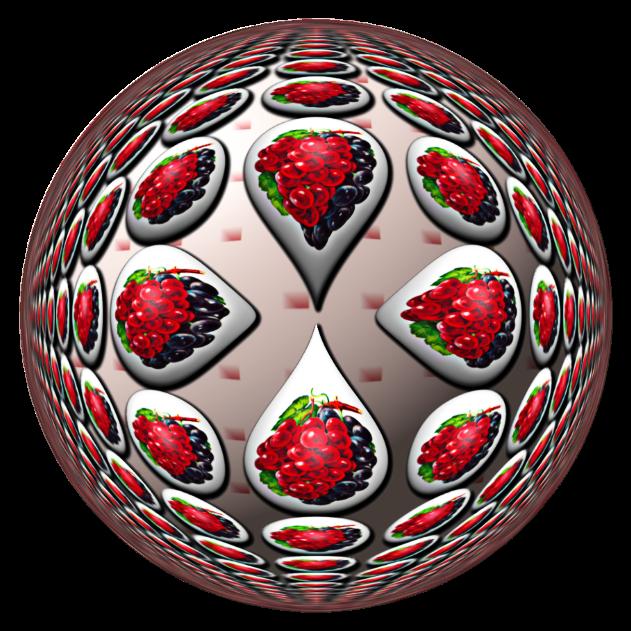 Fancy Grape Droplets